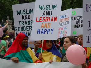 "Muslim Gay Pride. A shameful example is this commercial which states ""every ..."