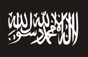 Black flag of Islamic fascism
