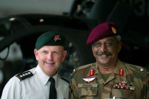 General Alavi and Doug Brown