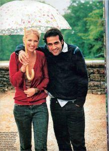 Aatish Taseer and Gabrille Windsor